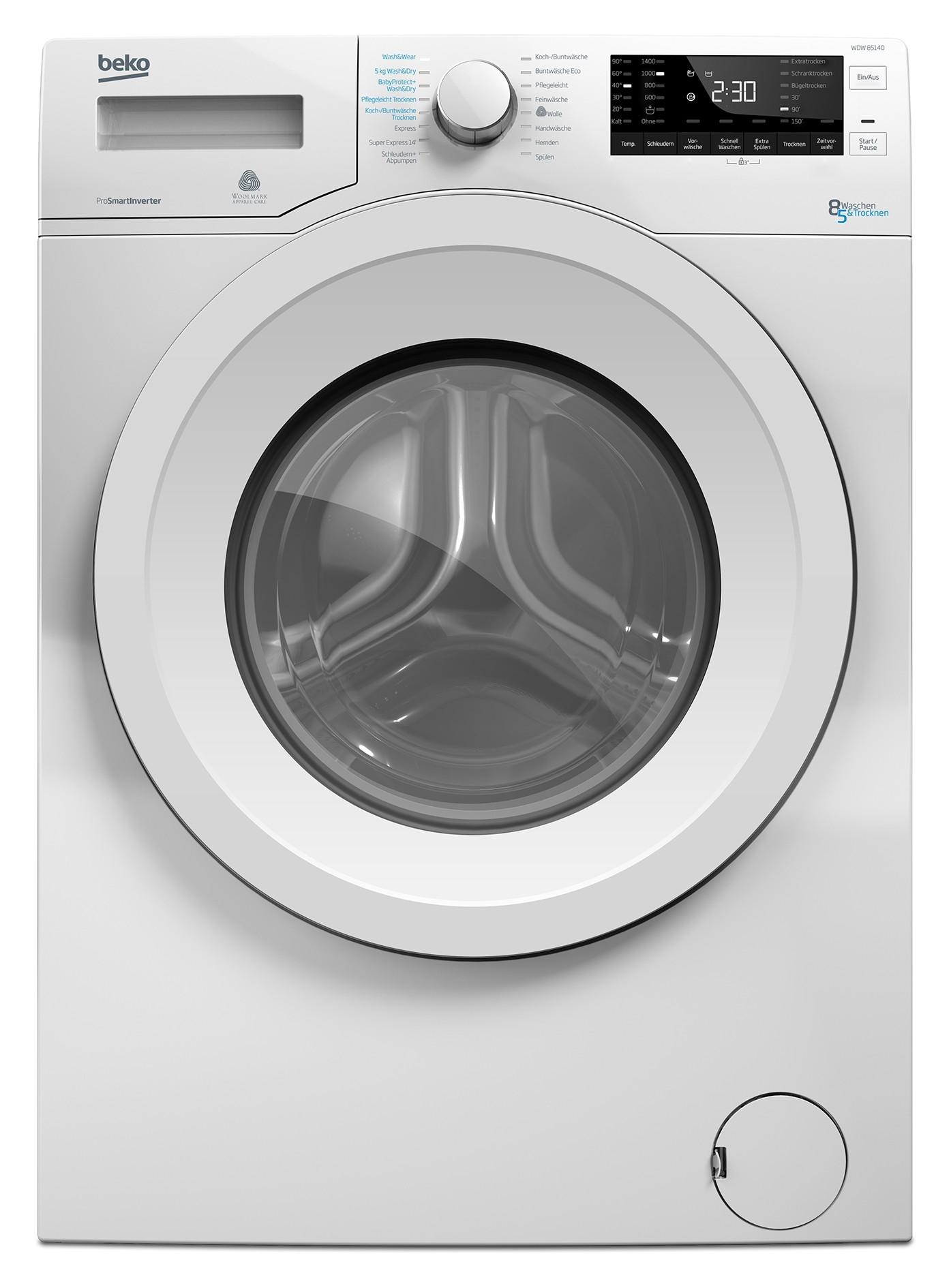 Waschtrockner beko WDW 85140