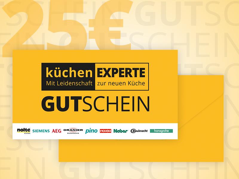 Gutschein Küchenexperte 25
