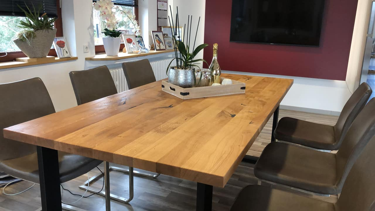 Super Tisch Eiche hochwertige Qualität