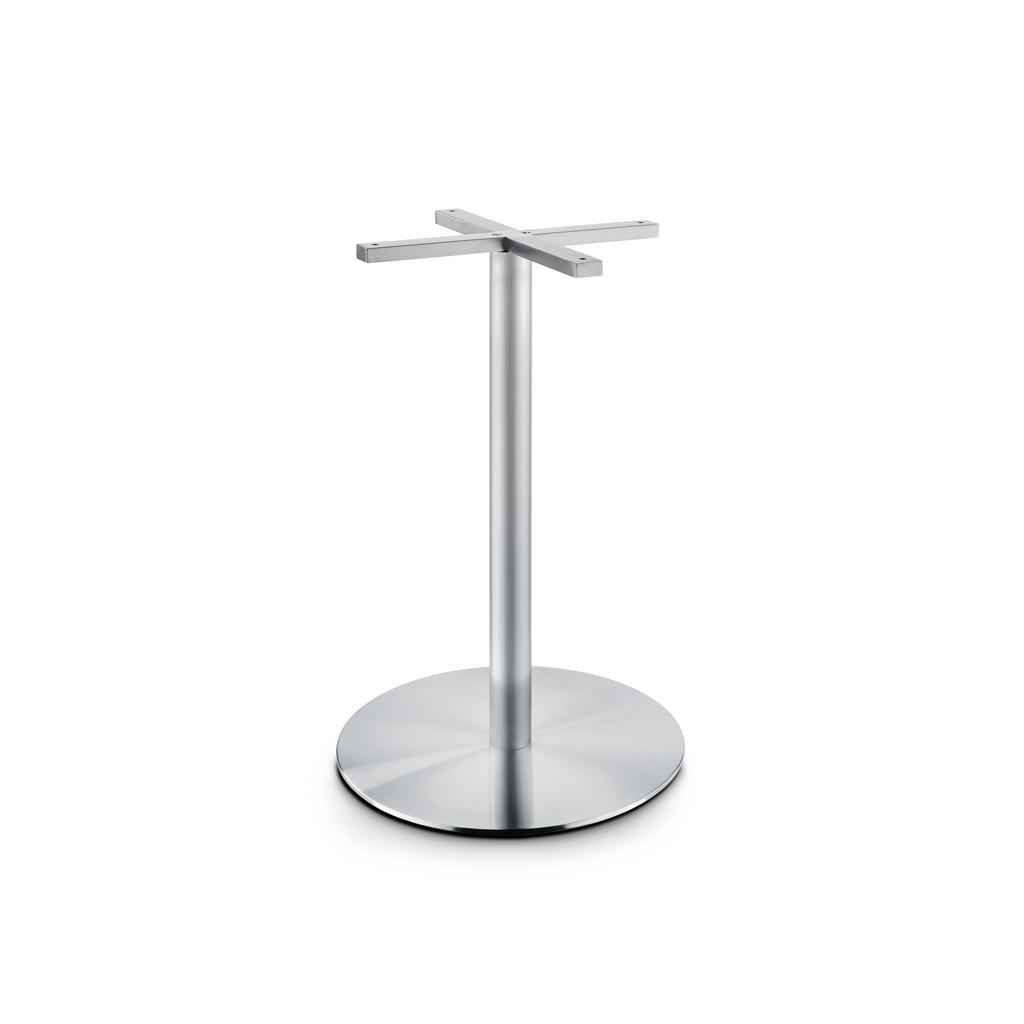 Tischgestell für runde Tische Edelstahl