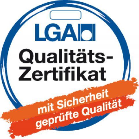 LGA Zertifikat