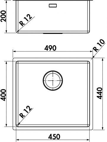 Einbauskizze Corno PF5