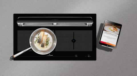 Kochfeldabzug mit App Steuerung be-cook