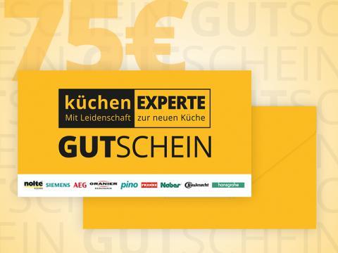 Gutschein Küchenexperte 75
