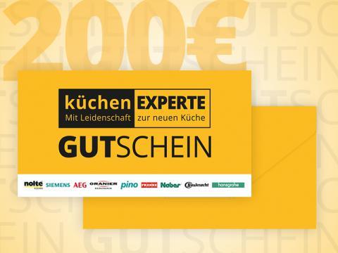 Gutschein Küchenexperte 200