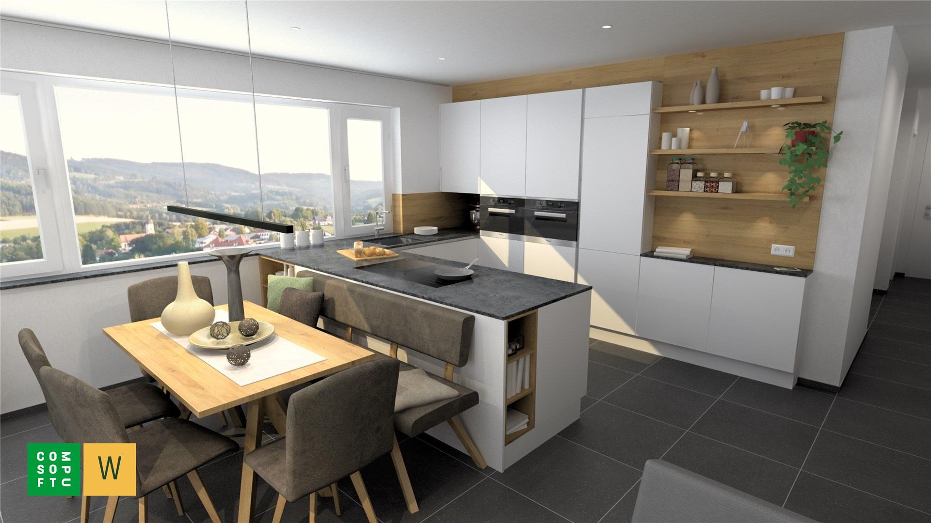 Ihre Traumküche jetzt planen mit dem 3D online Planer gratis inkl. Preisangebot