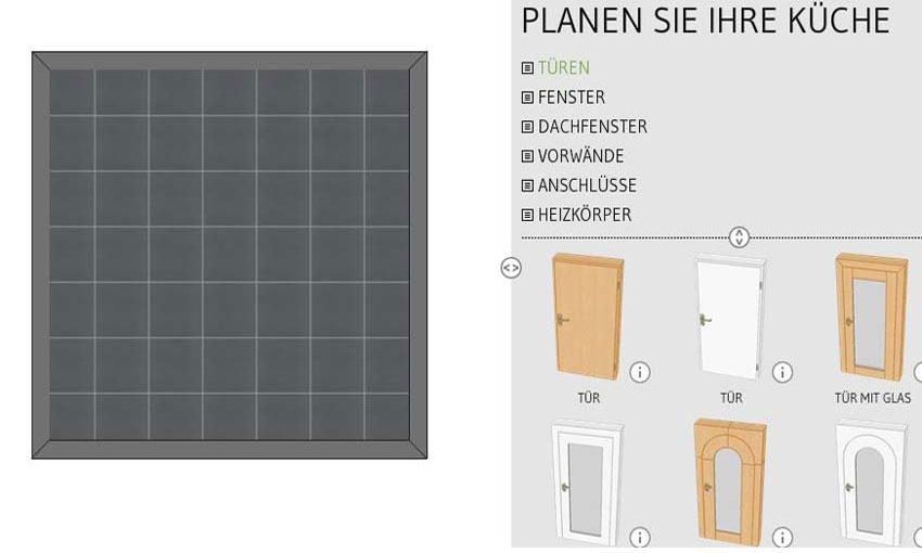 online k chenplaner online planen mit preis k chenexperte hannover. Black Bedroom Furniture Sets. Home Design Ideas