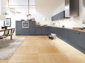 Alno Küche Alno Plan oxidgrau
