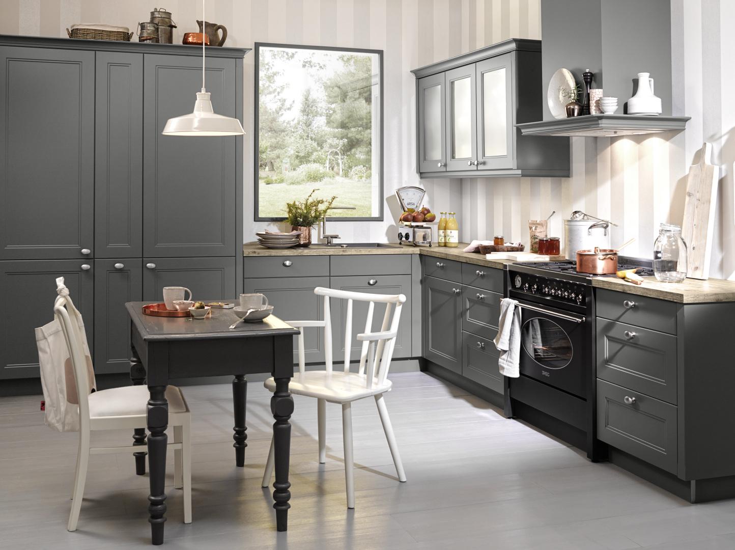 Fantastisch Grau Lackfarben Für Küchenwände Fotos - Küche Set Ideen ...