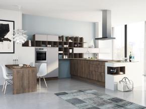 Große moderne Küche: Wellmann Alva