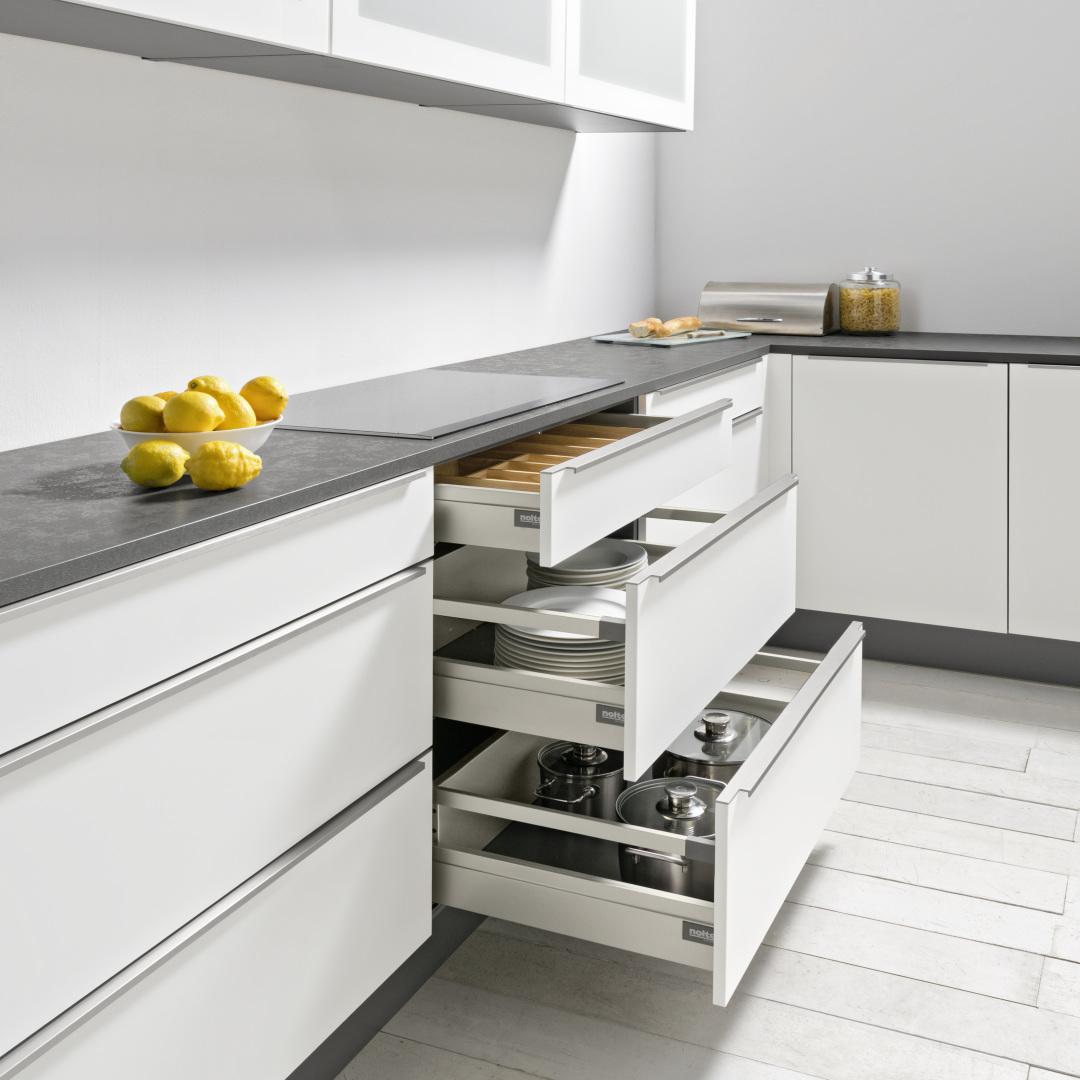 nolte ausstattungen qualit t zum anfassen k chenexperte. Black Bedroom Furniture Sets. Home Design Ideas