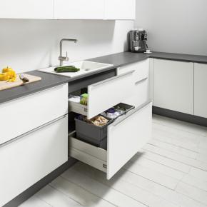 Spülenschrank mit Abfalltrennsystem SUZ PremiumLine Box