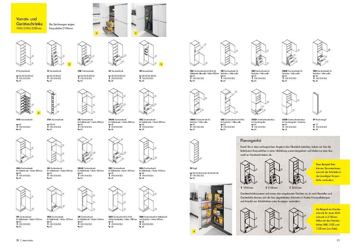 Kuchenschrank korpus masse for Billige kuchenschranke